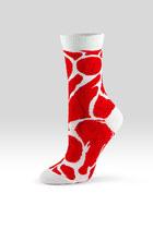 red Ashi Dashi socks