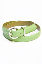 lime green Number A belt