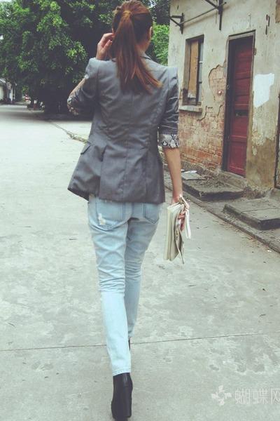 Zara shoes - American Eagle jeans