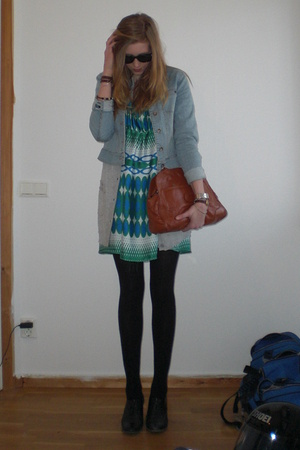 A colourful dress