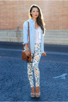 Floral Denim + Sheinside Giveaway