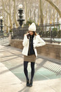 Light-brown-cotton-forever-21-dress-white-old-navy-coat