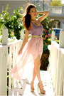 Light-pink-queens-wardrobe-skirt-light-purple-forever-21-top