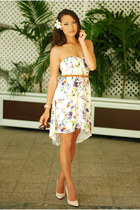 white Sugarlips dress - neutral Boutique 9 heels