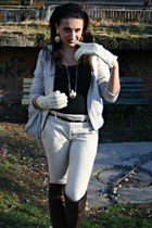 Tara pants - no name boots - new look belt - vintage earrings - Peacock London g