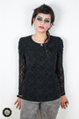 Heather-gray-h-m-jeans-black-lace-astrid-blouse-random-accessories