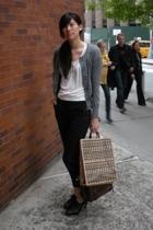 H&M jacket - Gap blouse - Ports 1961 pants - Nine West shoes - f21 purse
