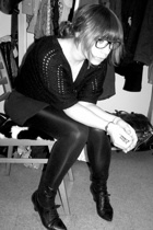 Deichmann shoes - Vero Moda tights - H&M top - H&M vest
