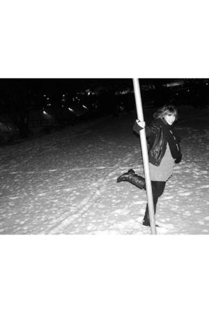 Zara dress - Atmosphere jacket - car boot sale  shoes - Hallhuber scarf