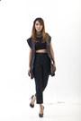 Oversized-renan-pacson-vest-tweed-topshop-pants-nicholas-kirkwood-heels