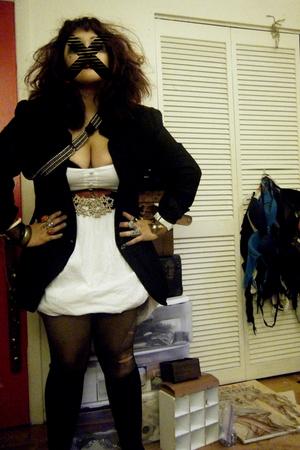blazer - Rampage dress - belt