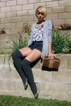 mossimo for targer sweater - silence and noise top - forever 21 shorts - Target