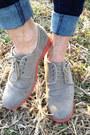 Beige-suede-h-m-shoes-navy-mens-skinny-diesel-jeans