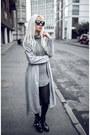 Silver-zaful-dress-silver-zaful-coat