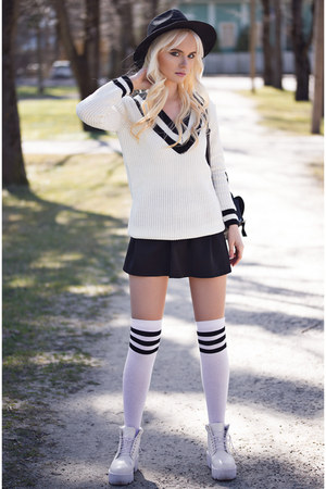 white Chicwish cardigan