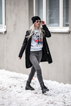 amethyst Freyrs sunglasses - silver Lovelywholesale sweatshirt