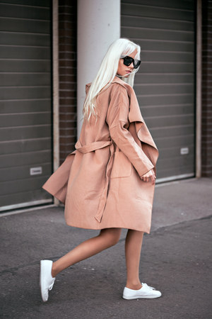 camel Sheinside coat