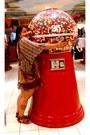 Secondhand-dress-zara-bag-bakers-sandals