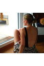 Black-h-m-swimwear-brown-unknown-french-brand-skirt