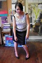 black nylon slip dress - periwinkle JC penny clearance t-shirt