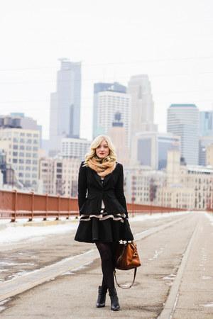 Forever 21 dress - free people sweater - Target blazer