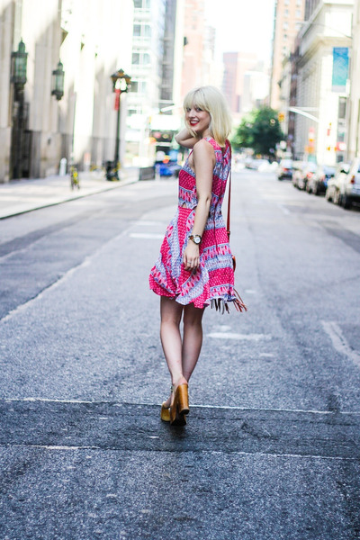 bubble gum lucca couture dress