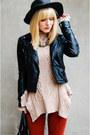Neutral-bcbg-sweater-black-topshop-jacket-black-coach-bag