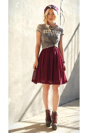 worn as skirt Forever 21 dress