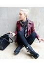 Black-biker-boots-steve-madden-boots-black-skinny-zara-jeans