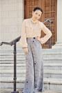 Jason-wu-for-target-blouse-wide-leg-target-pants