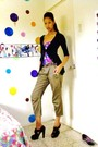 Cardigan-mango-top-mango-pants-michael-kors-shoes