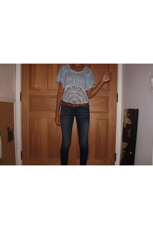 J Brand jeans - free people top