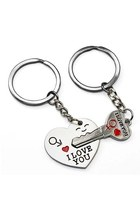 Key to My Heart Cute Couple Keychain Love Keychain Key Ring