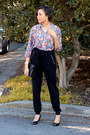Joggers-new-look-pants-jcpenney-blouse