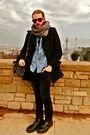 H-m-coat-levis-shirt-zara-pants-american-apparel-h-m-scarf-doc-martens