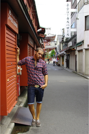 Uniqlo shirt - H&M jeans - asoscom shoes