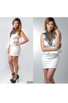 Ooh La Luxe dress - H Halston heels