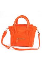 Orange Mini Smile Bag
