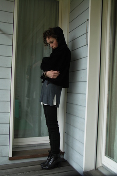 Gabor shoes - Selana shirt - H&amp;M socks - H&amp;M dress