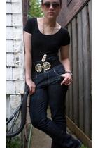 Malabar - jeans - H&M belt