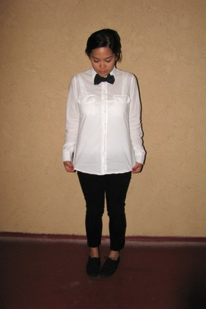 Tommy Hilfiger tie - Forever21 top - Forever 21 pants