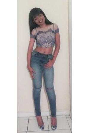 DKNY jeans - Steve Madden heels
