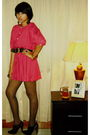 Pink-flea-market-dress