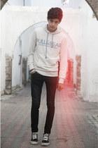 Vans shoes - H&M jeans - Pull&ampBear sweatshirt