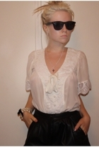 Anise shirt - lucky 13 shorts - Sportsgirl sunglasses - somewhere bracelet - UTE
