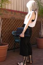 LAB top - Kookai pants - Urbanogcom - Chanel purse
