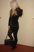 Kaviar sydney blazer - Target sweater - david jones scarf - tony bianco navy and