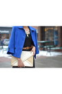 Navy-vintage-blazer-blue-vintage-blazer-black-urban-outfitters-dress