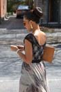 Chiffon-urban-outfitters-skirt-lace-h-m-shirt