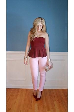 Mossimo jeans - asos top - Target heels